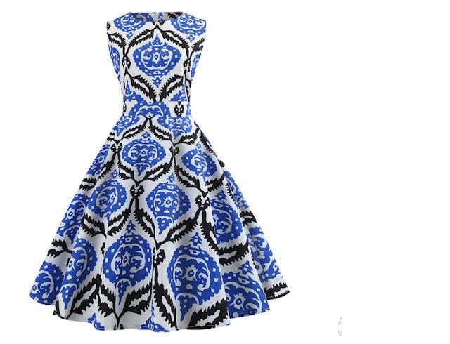 vestido vintage dresslily