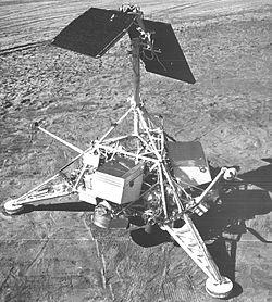 Spacecraft on Moon