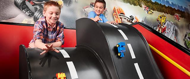 Atrações no Legoland Discovery Centre