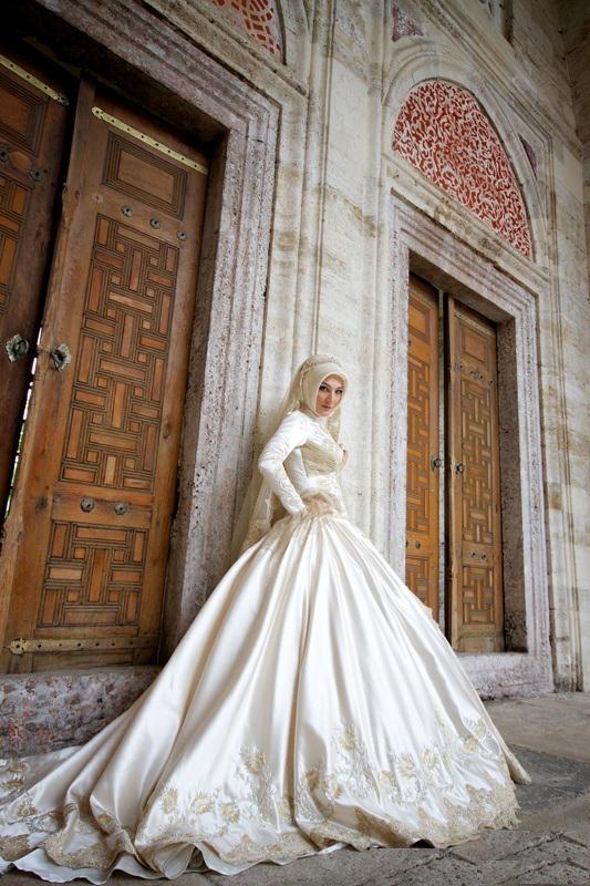 Pusing Dengan Gaun Pengantin Islami Hijab Wedding Bridal Berikut Ini Mungkin Cocok Dengan Anda Dzargon