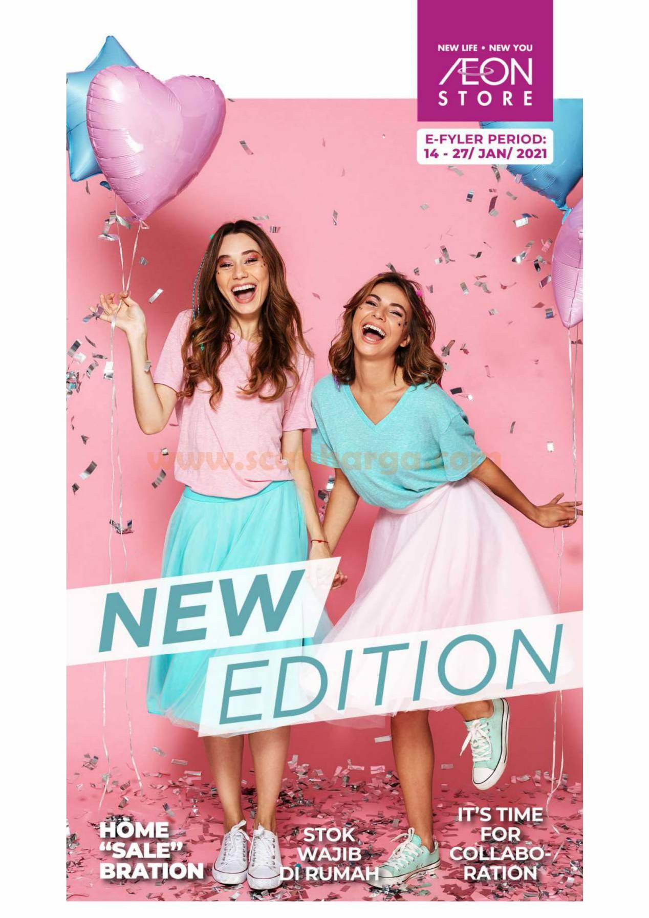 Katalog Promo AEON Store Periode 14 - 27 Januari 2021