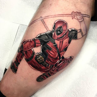 tatuaje de DeadPool