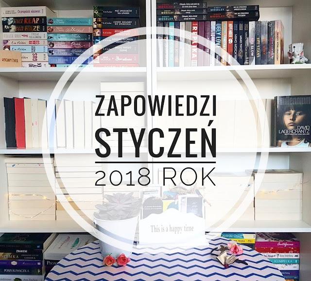 Zapowiedzi książkowe - Styczeń 2018 rok