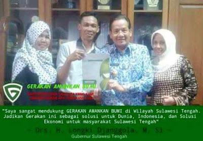 Gubernur Sulawesi Tengah Ikut I-GIST