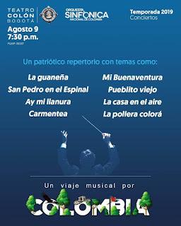 POS UN VIAJE MUSICAL POR COLOMBIA Sinfónica Nacional