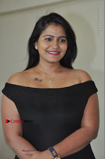 Telugu Actress Swathi Reddy Latest Stills in Black Gown  0002.JPG