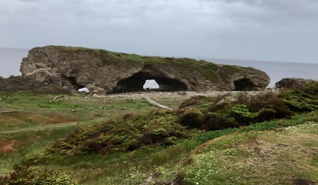 Arches Provincial Park, tiny trailer camping, Trans Labrador Highway, Newfoundland