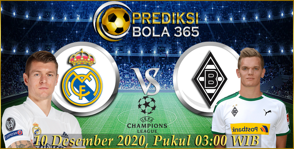 Prediksi RealMadrid Vs Monchengladbach Grup B Liga Champions 20/21