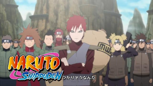 "Opening Naruto Shippuden 11: ""Totsugeki Rock"""
