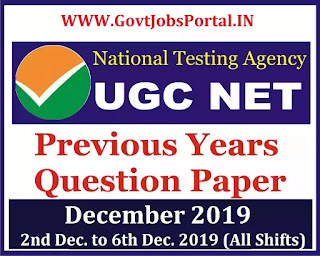 ugc net previous years question papers