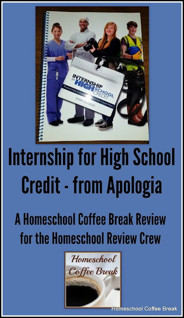 Internship for High School Credit - from Apologia (A Homeschool Coffee Break Review for the Homeschool Review Crew) on Homeschool Coffee Break @ kympossibleblog.blogspot.com