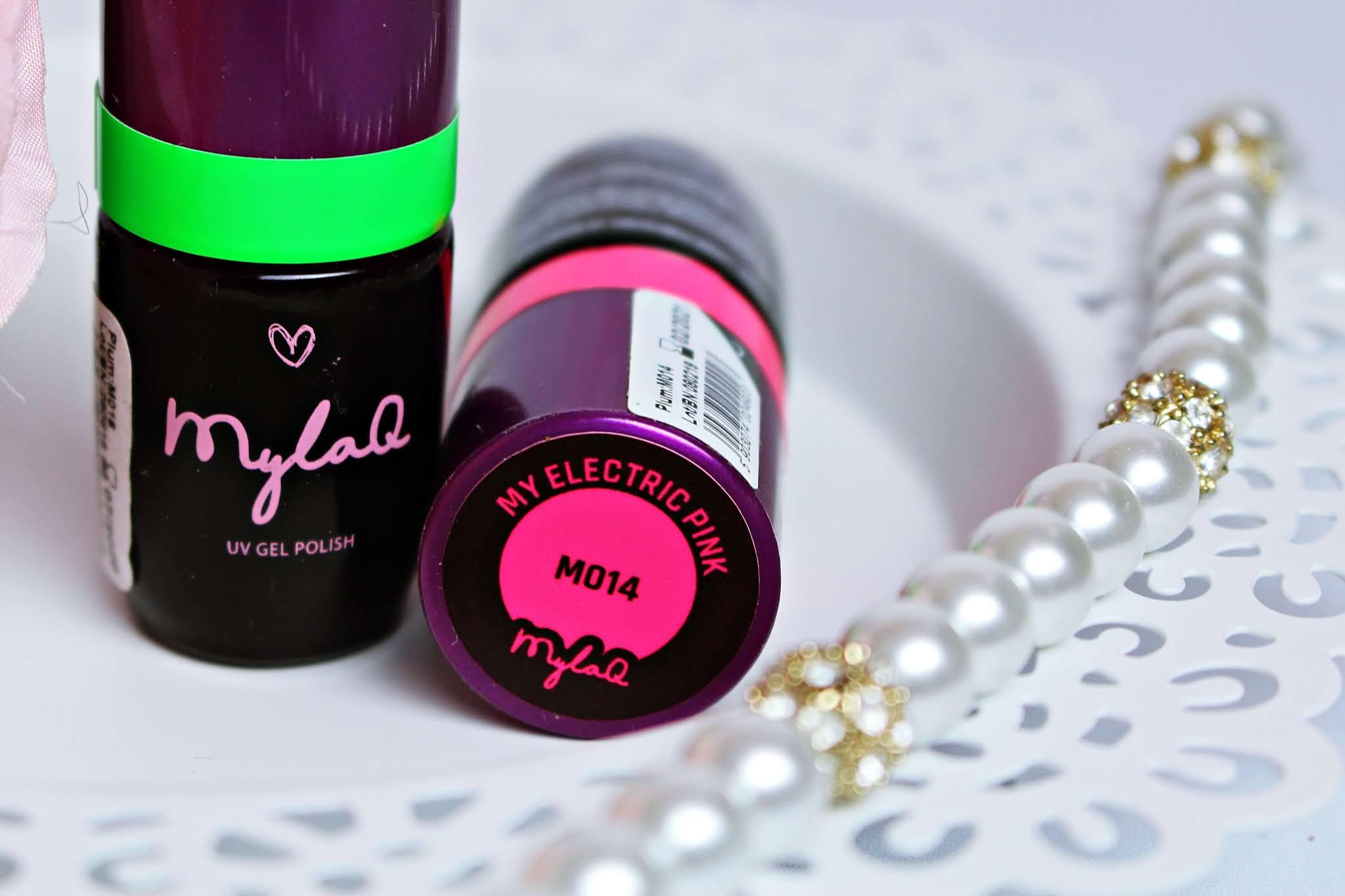 Lakier hybrydowy MylaQ My Electric Pink M014