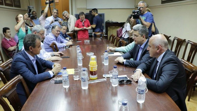 Συνάντηση των Περιφερειαρχών Βορείου Ελλάδος για το θέμα των διοδίων στην Εγνατία Οδό