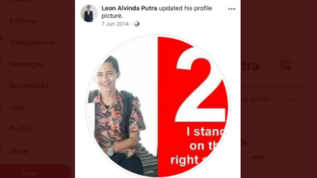 Ternyata... Ketua BEM UI Leon Alvinda Putra adalah Jokowi Mania