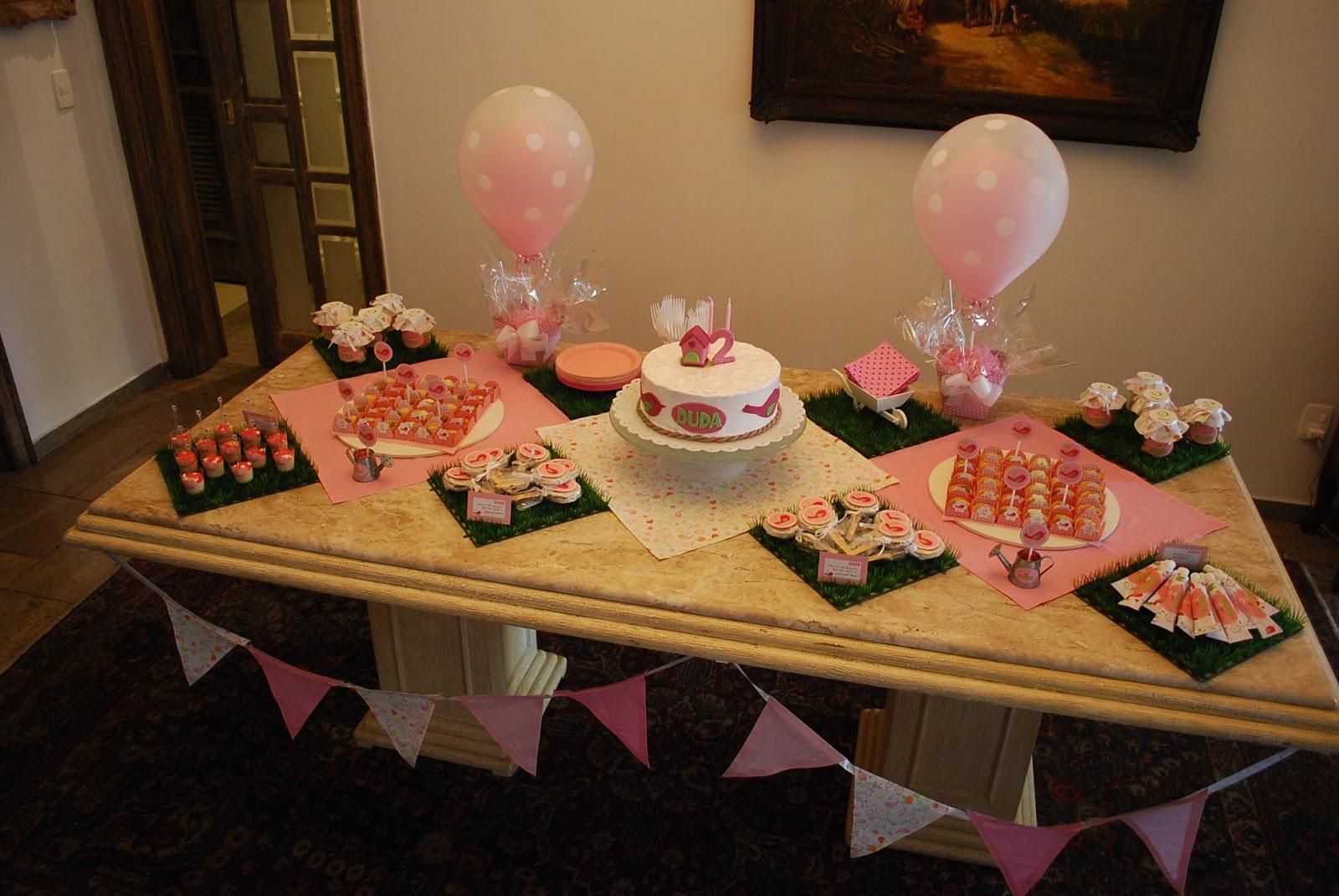 Foi a Mam u00e3e quem fez  Festa de Aniversário (Passarinhos) -> Decoração De Mesa De Aniversario Para Homens