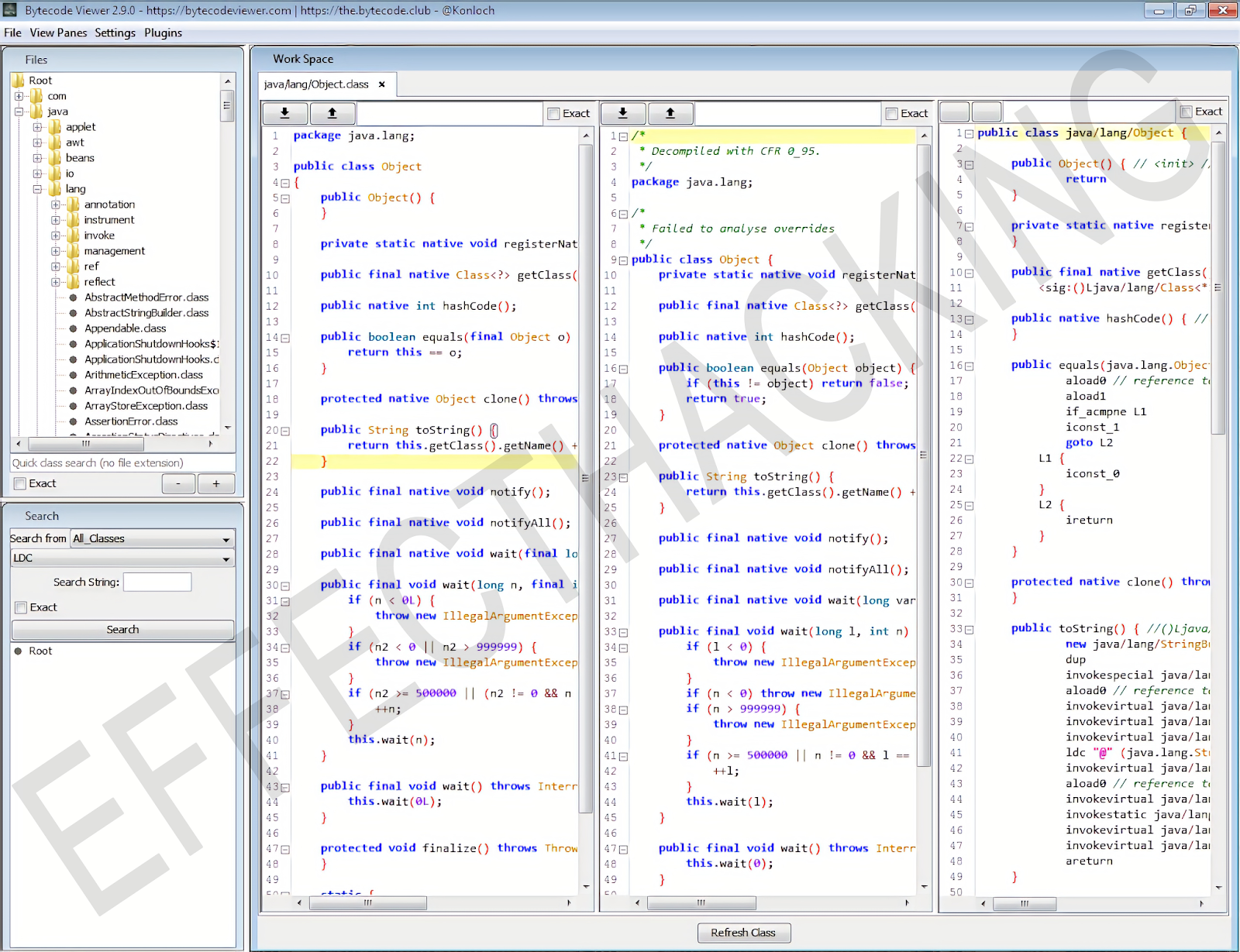 Bytecode Viewer Screenshot