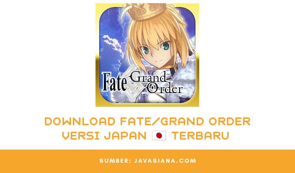 Download FGO JP Apk Terbaru, Aplikasi Fate/Grand Order Versi Japan