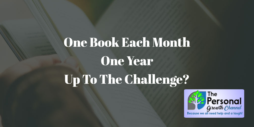 One Book a Month. One Year. Are You Up to Our Reading Challenge?