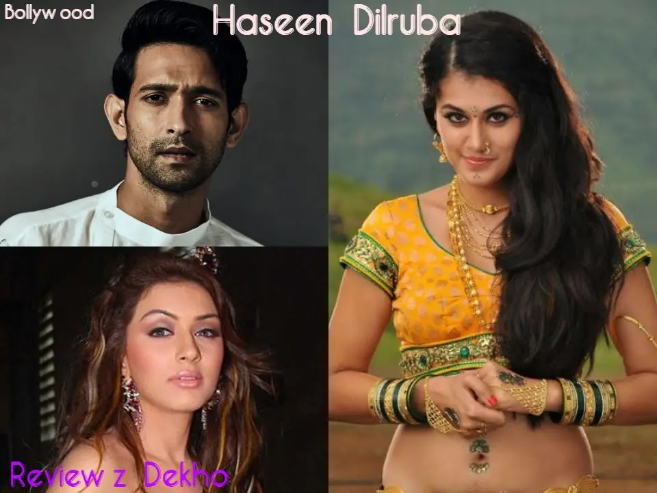 Haseen Dilruba 2020, Bollywood Movie Story, Cast, Trailer & Review | Reviewz Dekho