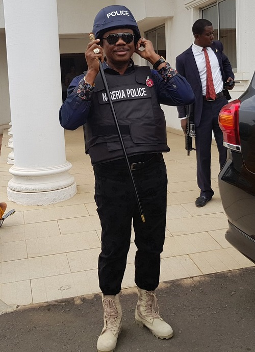 Governor Obiano In New Security Kit Launch For police to curb Crime at Christmas