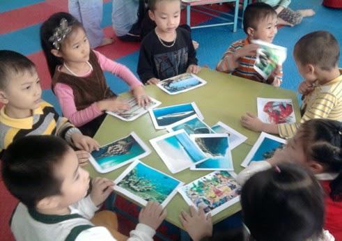 Biện pháp giáo dục tài nguyên và môi trường biển trẻ 5 tuổi
