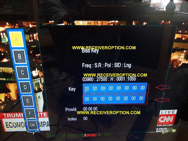 TECHNOSAT MINI TS-3 HD RECEIVER POWERVU KEY OPTION