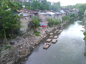 daerah bantaran sungai winongo Yogyakarta
