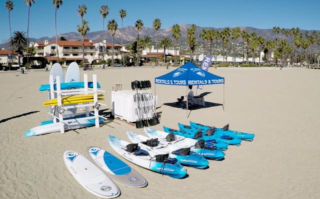 O que fazer na praia West Beach em Santa Bárbara