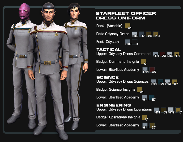 star trek online odyssey uniform amazon