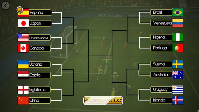 Super Arcade Soccer - Modo Torneo