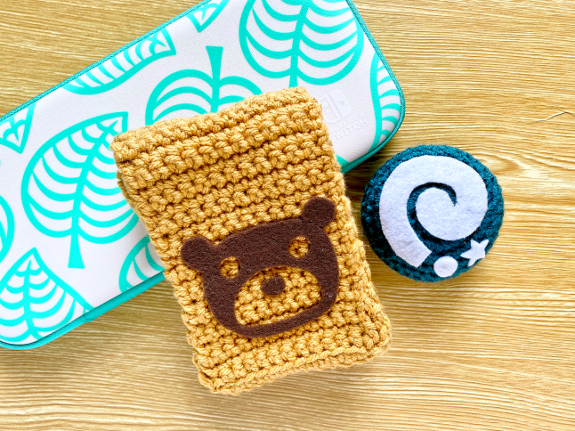 Animal Crossing Item Bag Crochet Pattern