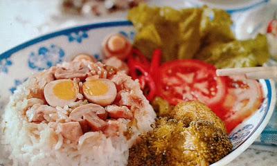 Gambar Resep Nasi Tim Ayam