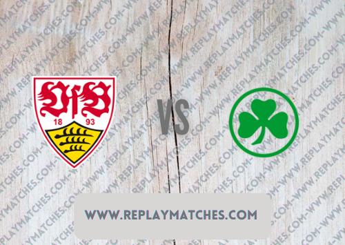 Stuttgart vs Greuther Fürth -Highlights 14 August 2021