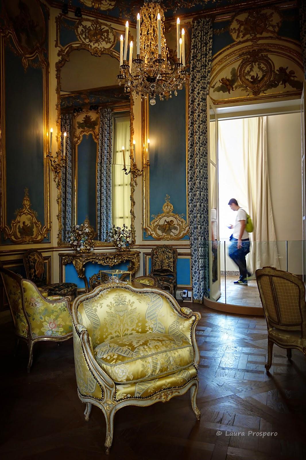 Cabinet de l'appartement de l'hôtel Dangé (vers 1750) - Musée du Louvre © Laura Prospero