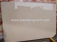 Marmer Empeire Beige ini dijual dalam bentuk slabs