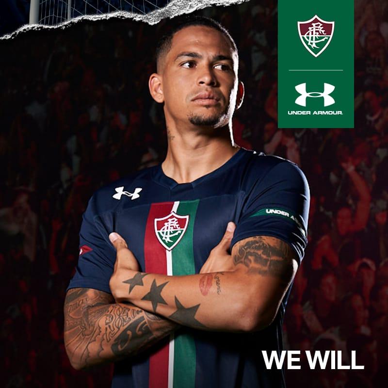 db5185ff1d Veja como ficou a nova terceira camisa do Fluminense