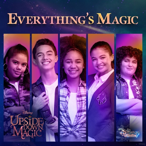 Cast Of Upside Down Magic Everything S Magic From