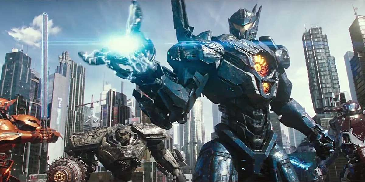 Review Pacific Rim Uprising 2018 From The Front Row