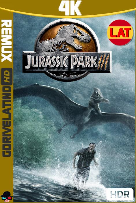 Jurassic Park 3 (2001) BDRemux 4K HDR Latino-Ingles MKV