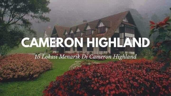 15 Tempat Menarik Untuk Dilawati di Cameron Highland!