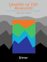Quality of Life Research Journal cover