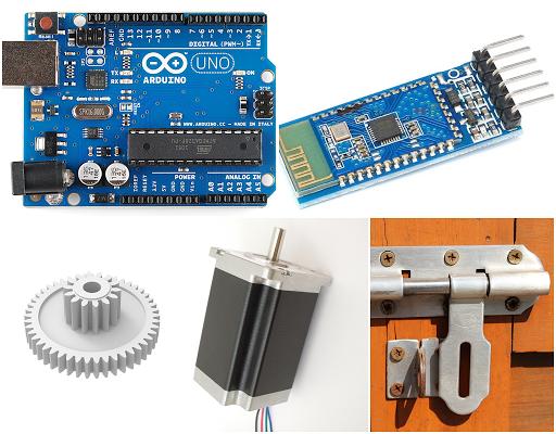 Arduino 無線電子鎖
