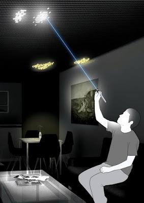 مودرن هوم - سقف قابل لتخصيص بمصابيح LED