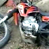 Otro joven motociclista grave por accidente de tránsito.