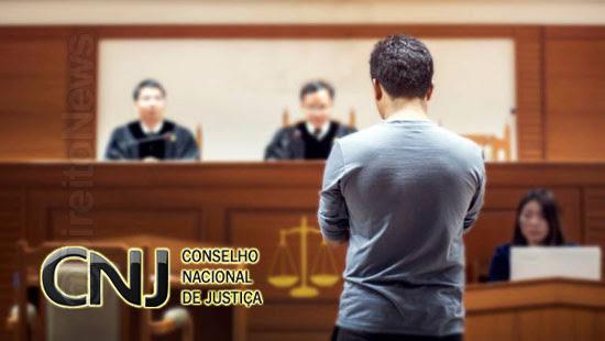 cnj proibe audiencias custodia videoconferencia tribunal