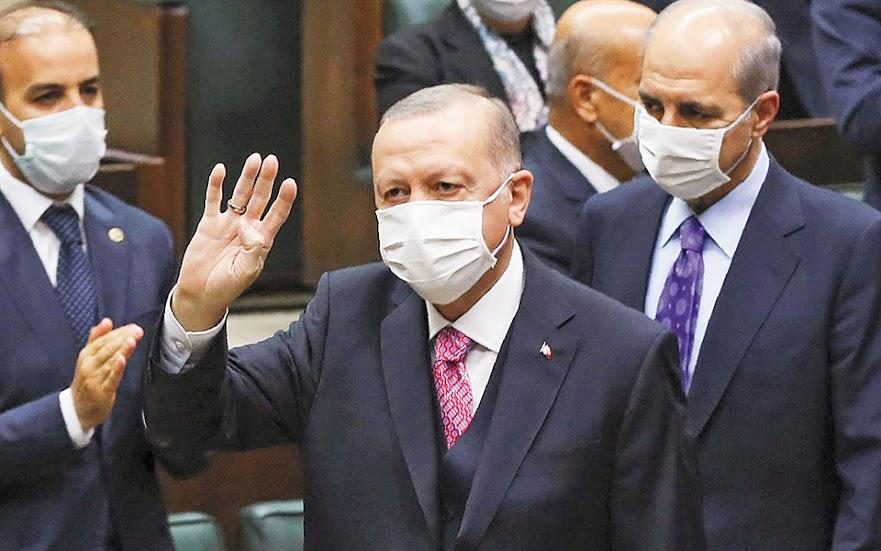 Ερντογάν: Για όλα φταίει η Αθήνα