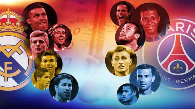 الأن قناة مفتوحة تنقل مباراة الريال وباريس سان جيرمان مجاناً اليوم 6/3/2018 في دوري أبطال أوروبا
