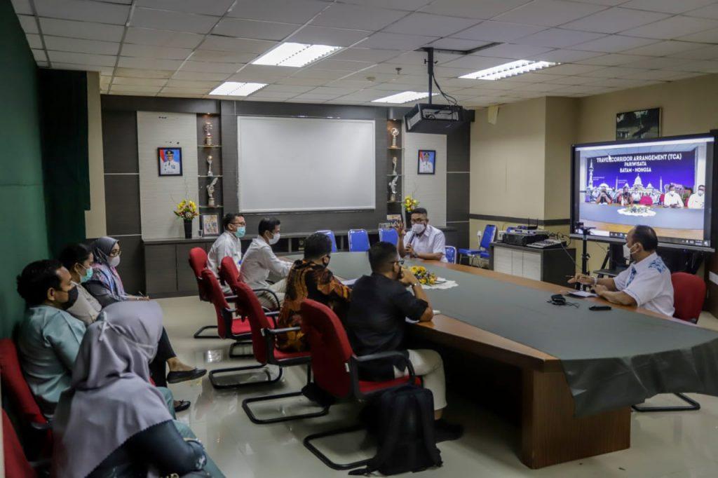 Bahas Persiapan Pemberlakuan TCA Batam, Ardiwinata : Pemko Batam Masih Fokus Menangani Covid-19