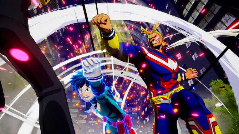 My Hero Ones Justice PC Full Español
