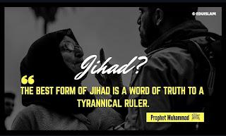 Best Jihad according to Prophet Muhammad(PBUH).